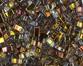 Miyuki Half Tila Beads HTL0301 Rose Gold Luster