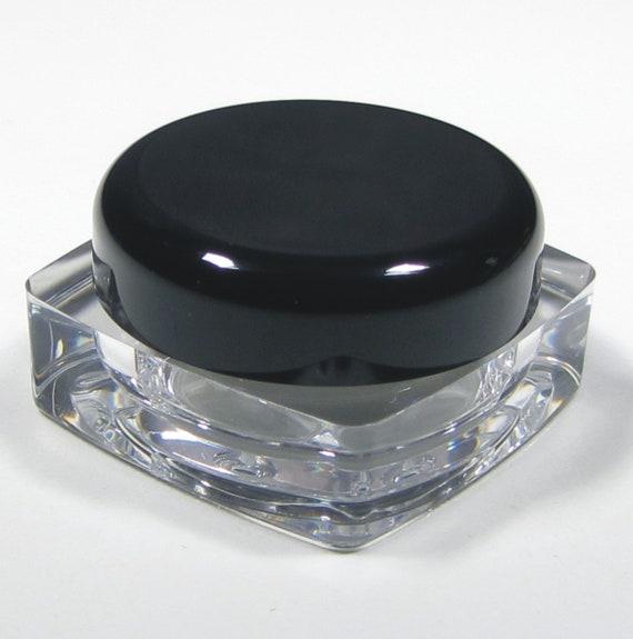 50 kosmetik gl ser dicke wand platz sch nheit lip balm pot etsy. Black Bedroom Furniture Sets. Home Design Ideas