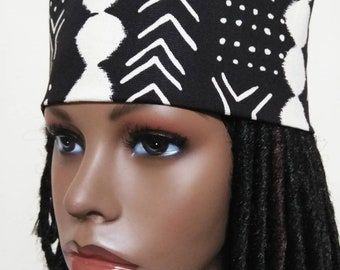 72e13144909 Mudcloth Pattern African Print Women s High top Kufi hat African hat  Kufi  African Hat  African Hats and accessories