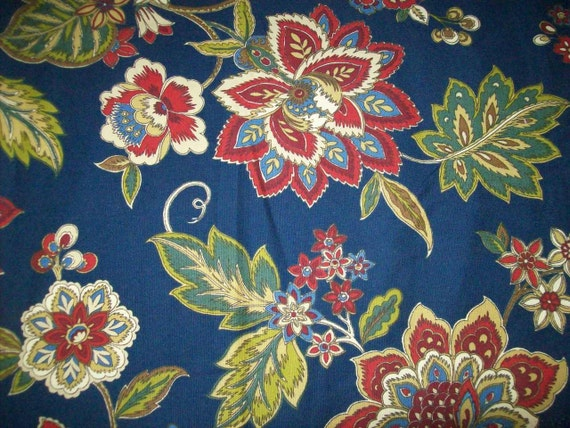 Home Decor Fabrics By The Yard: Floral Upholstery Fabric By The Yard For Home Decor
