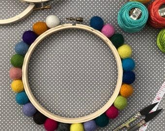 Embellished Hoops