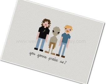 Paul - The *Original* Pixel People - Cross stitch PDF Pattern - INSTANT DOWNLOAD