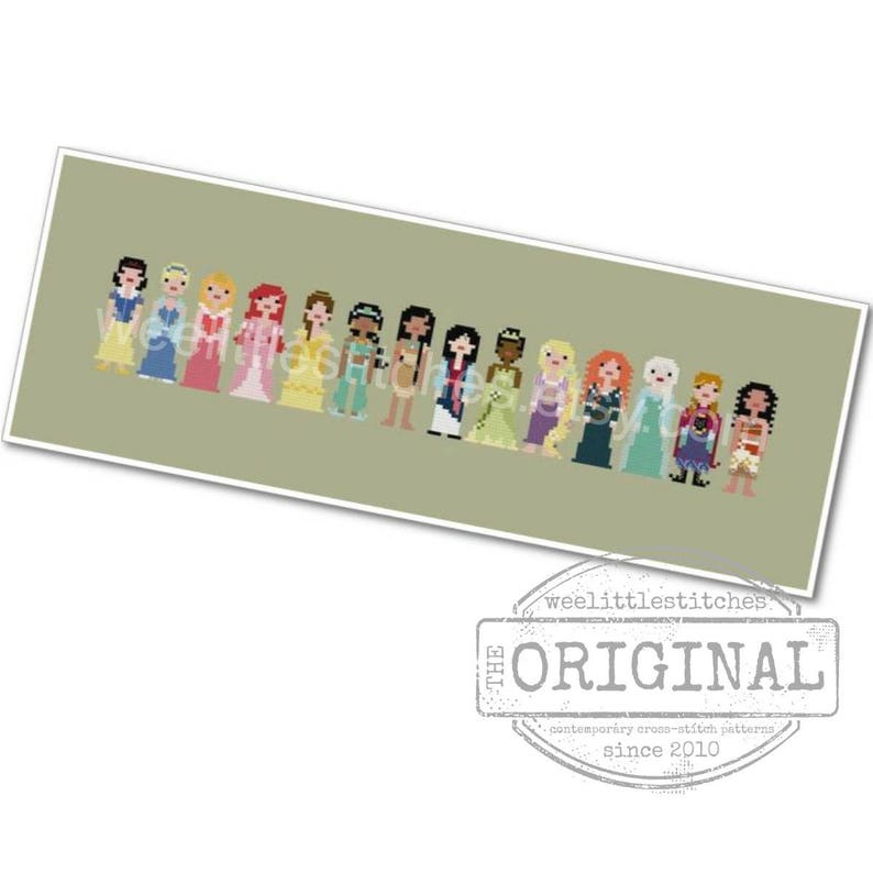 Storybook Princesses  The Original Pixel People  PDF image 0