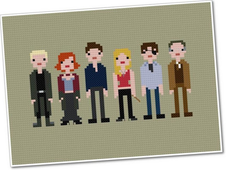 Buffy the Vampire Slayer  The Original Pixel People  PDF image 0