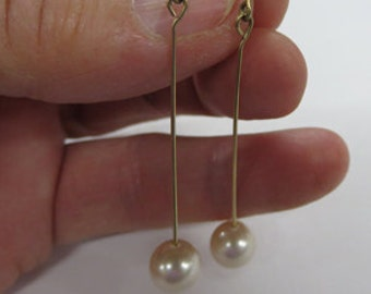 Pearl Earrings - 4 Different Pairs of Pearl Earrings - On Sale - All Dangle Earrings
