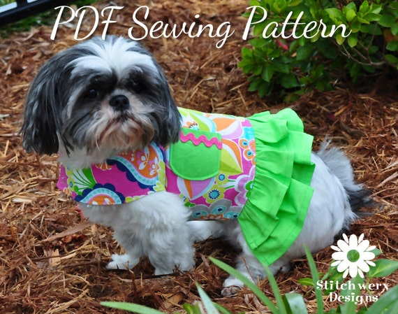 Dog Harness Sewing Pattern Dog Clothes Pattern Dog Harness Etsy