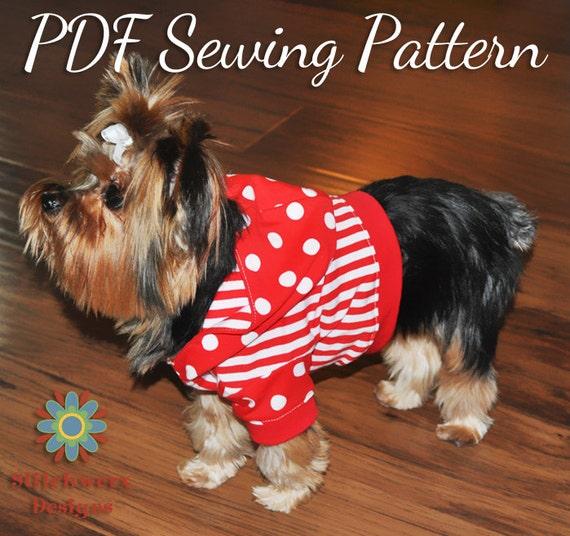 Dog Tee Pattern Dog Shirt Pattern Dog Hoodie Pattern Small Etsy