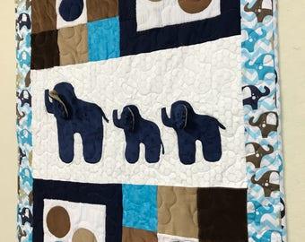 Elephant Parade Quilt