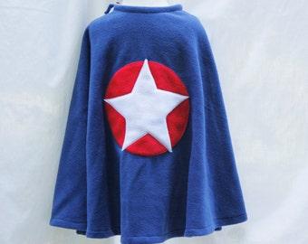 Captain America Inspired Cape