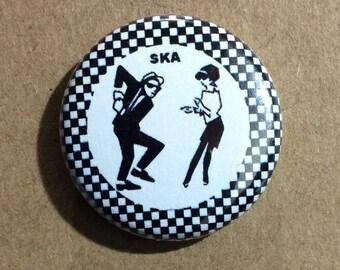 """1"""" Button - SKA Dancing Couple"""