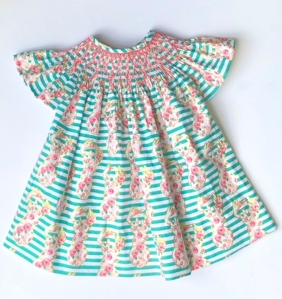 Headband Flamingo Turquoise and pink gift *Dispatch next day Baby Girl Dress