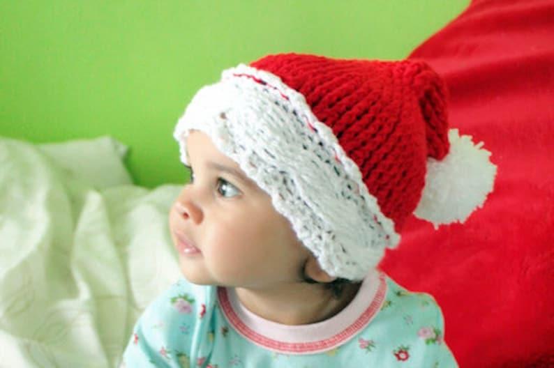 fb3e256a8c7ff 2T to 4T Christmas Toddler Santa Hat Ho Ho Ho Hat Boy Girl