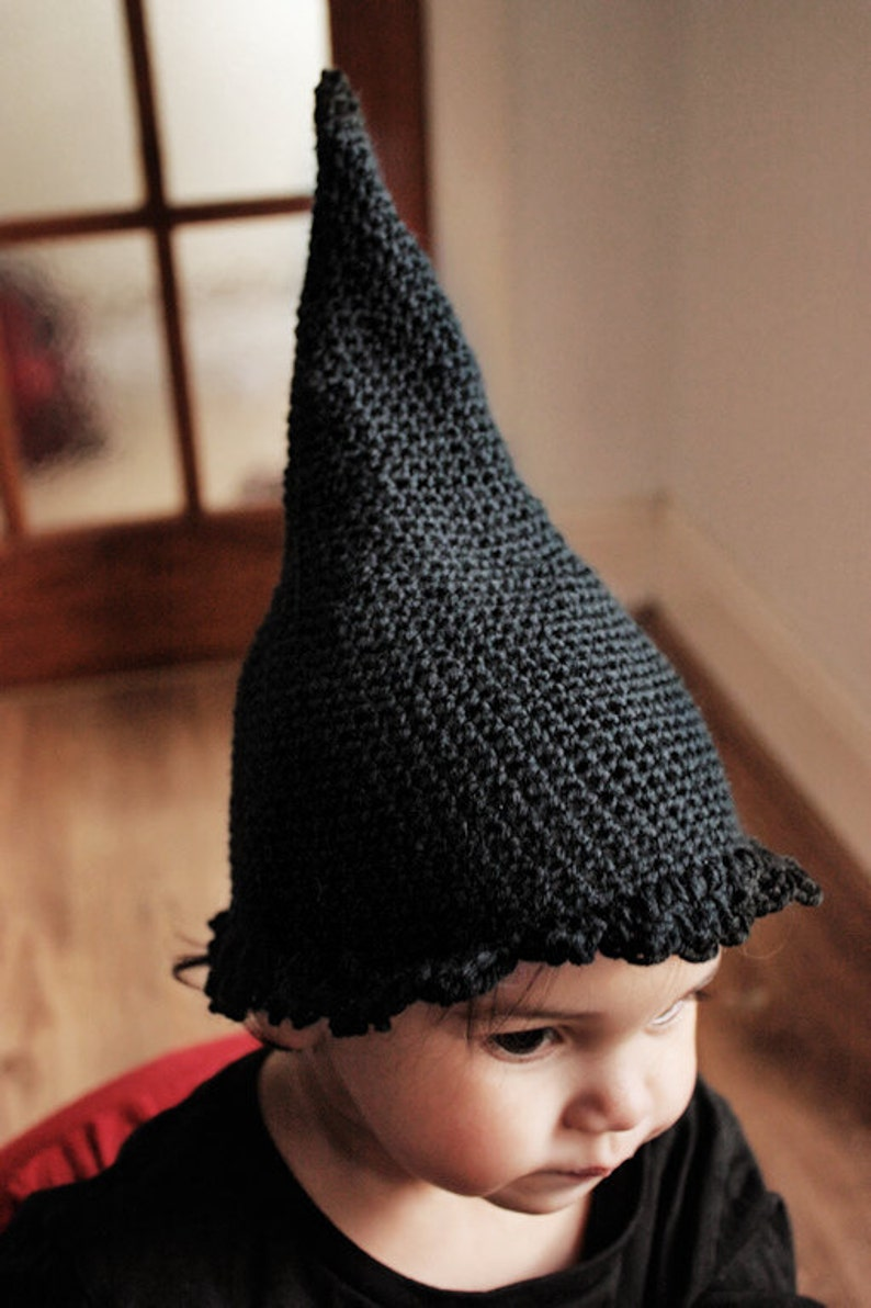 5T to Teen Halloween Witch Costume Hat Childrens Spooky Photo image 0