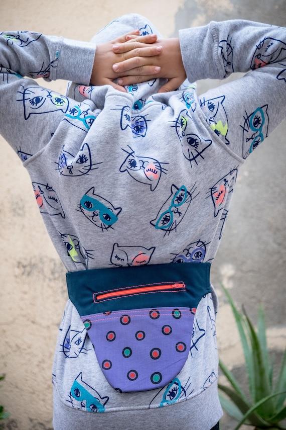 Fanny Pack, pack Mini sac banane, sac de taille à pois pour enfants