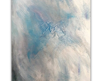 Abstract Painting Large (  40'' x 30'' x1.5'' deep )  DanielBruno'sArts