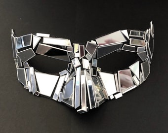 Incognito Shattered Iridescent Mirror Mask