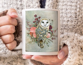 Owl Mug, Coffee Mug, Coffee Cup, Owl Gifts, Owl Cup, Gift for Owl Lover, Owl Coffee Cup, Owl Coffee Mug, Owl Gift, Owl Art