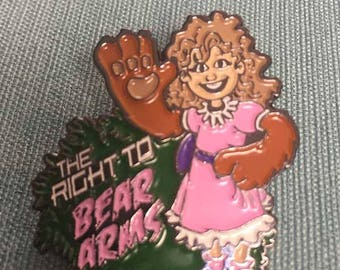 Right to Bear Arms - Dad Joke Enamel Pin