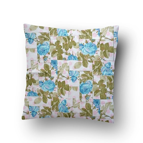 New-100/% Cotton FQ to Yd Marcus Fabrics Surprise Teal Vintage Floral Design