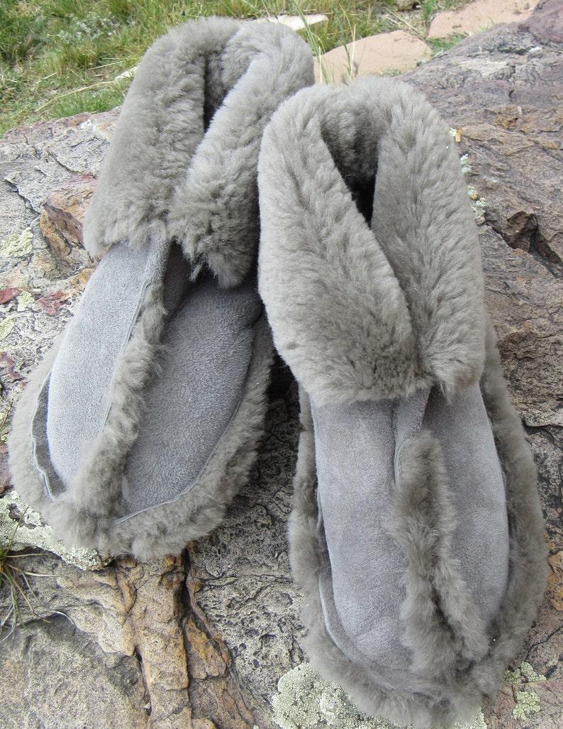 Sheepskin Slippers-Traditional image 0