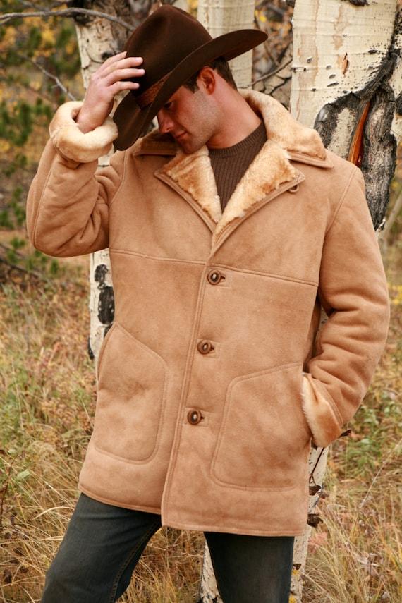 Mens Sheepskin Coat >> Mens Sheepskin Coat Classic