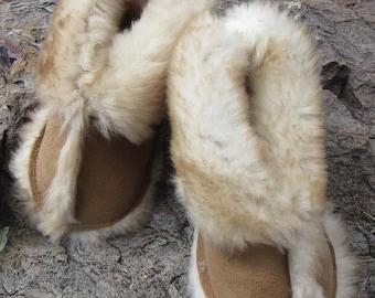 Kids Sheepskin Slippers