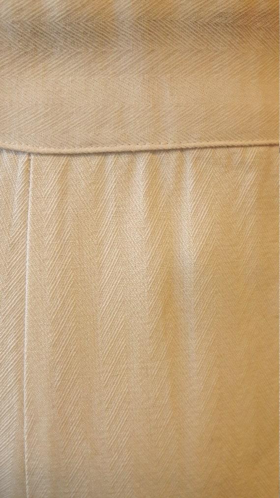 1940s rayon jersey/herringbone playsuit/romper, 1… - image 6