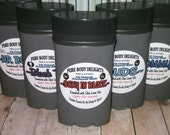 Sexy in Black VEGAN Deodorant for MEN,Loads of Skin Lovin Oils and Butters Made from Scratch For all you SEXY Guys