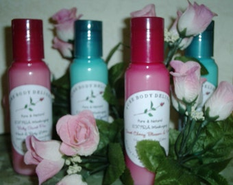 SPECIAL--Sweet Cherry Blossom and Vanilla--EXTRA Moisturizing Creamy and Rich---Hand and Body Lotion