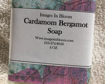 Cardamon Bergamont Soap  ***NEW***