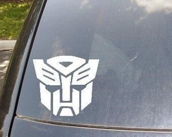 Autobots Car Decal