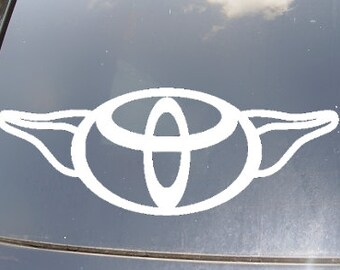 ToYoda Car Decal