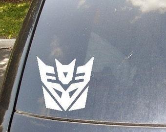 Decepticon Car Sticker