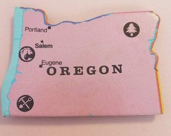 Oregon Puzzle Piece Magnet
