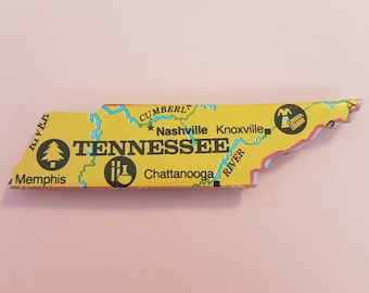 Tennessee Puzzle Piece Magnet