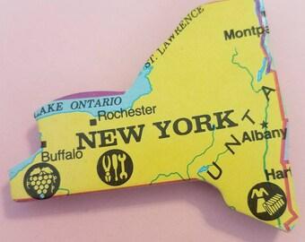 New York Puzzle Piece Magnet