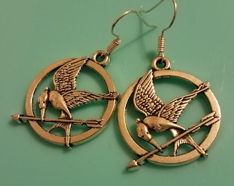 Mockingjay Dangle Earrings