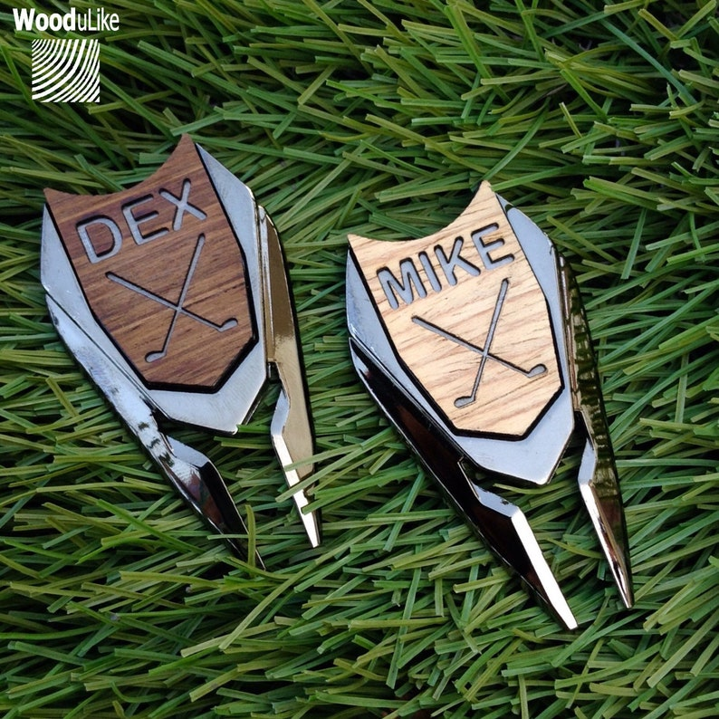 Personalized Golf Ball Marker Divot Tool Groomsmen Gifts Gift image 0