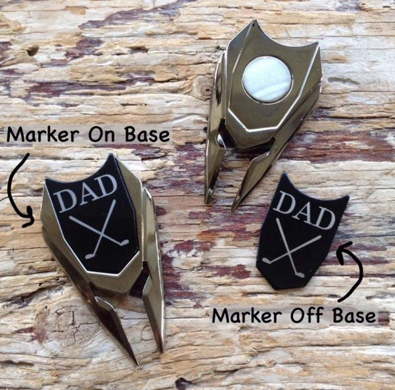 35b4ebee579 Personalized Golf Ball Marker Divot Tool Fathers Gift for Dad
