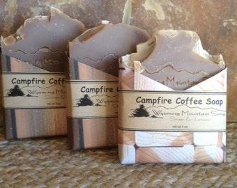 Campfire Coffee Soap