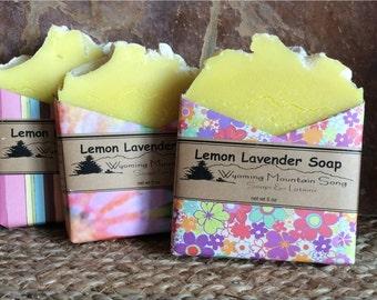 Lemon Lavender Soap