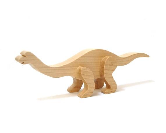 Wood Mamenchisaurus Dinosaur 3d Sculpture Wooden Sauropod | Etsy