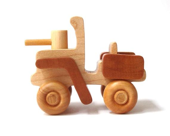 Bois Toy Soldier Transport pour véhicule militaire armée en bois enfants
