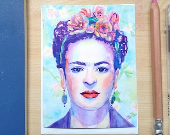 Frida Note Cards: Set of Four