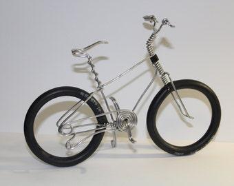 Bicycle Art, Wire Art, Wire bicycle, Small bike, Miniature bicycle, Metal bicycle, Road Bike, Wire Bike, Bicycle, Aluminum Bike, Nico Diemel