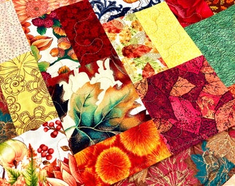 Autumn Table Runner, Fall Table Runner, Quilted Table Runner, Patchwork Runner, Thanksgiving Runner, Fall Table Topper, Pumpkins, Foliage