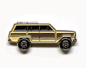 1991 Jeep Grand Wagoneer - Enamel Pin - BRFC Dream Cars #3 - This is Us