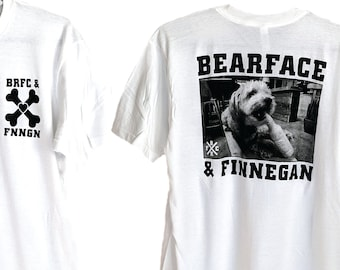 BRFC x FNNGN - youth crew hardcore style shirt tribute to my dog Finnegan
