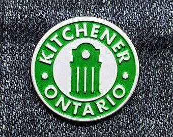 Kitchener Ontario Enamel Pin