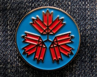 67 Leaves - RCAF - Soft Enamel Pin